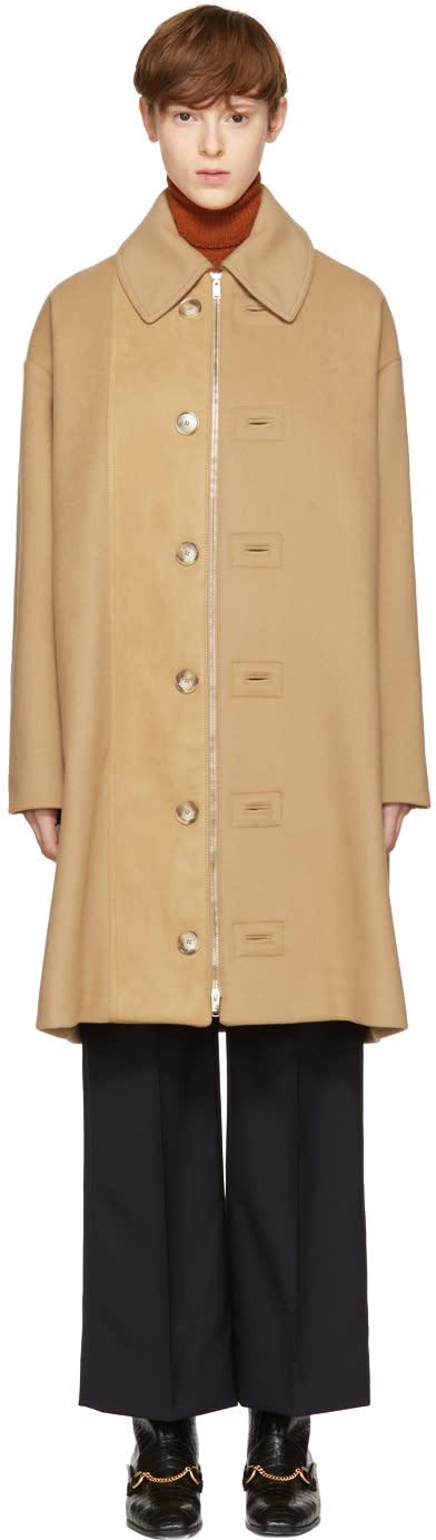 Stella Mccartney Beige Regina Cape Coat
