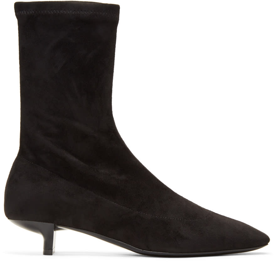 Stella Mccartney Black Foster Sock Boots
