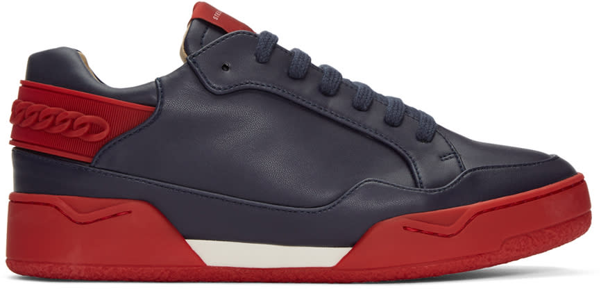 Stella Mccartney Navy Cord Sneakers