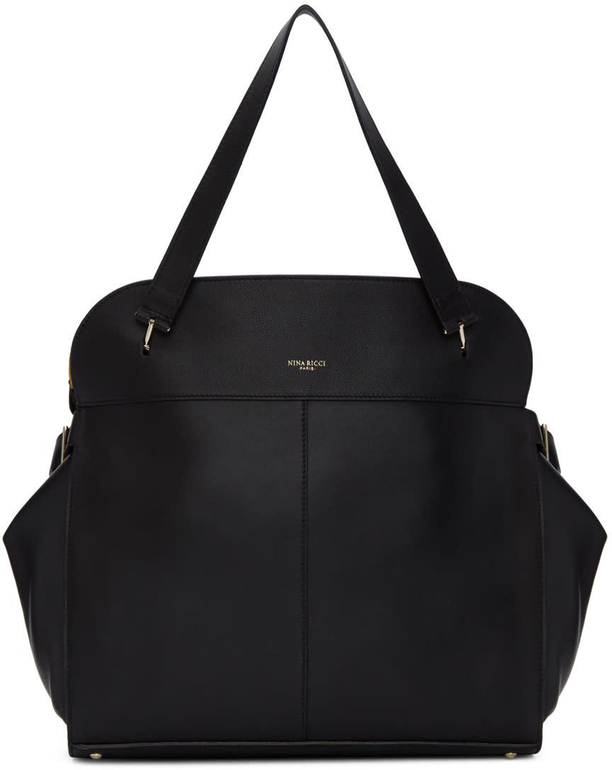 Image of Nina Ricci Black Medium Coda Bag