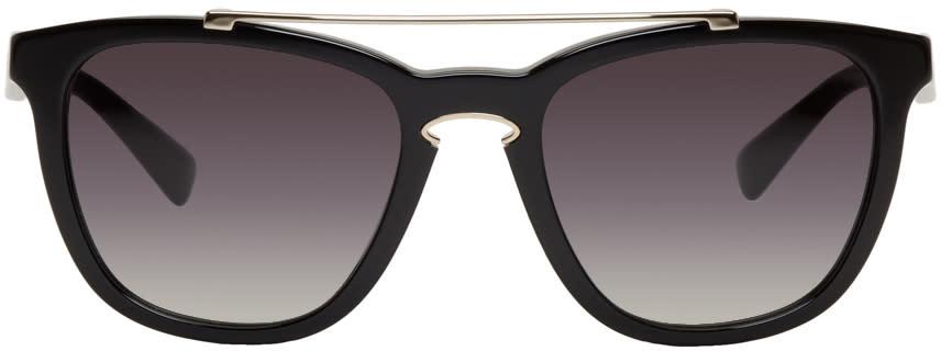 Valentino ブラック ロック ループ サングラス