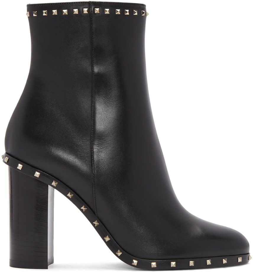 ValentinoBlack Valentino Garavani Soul Rockstud Boots