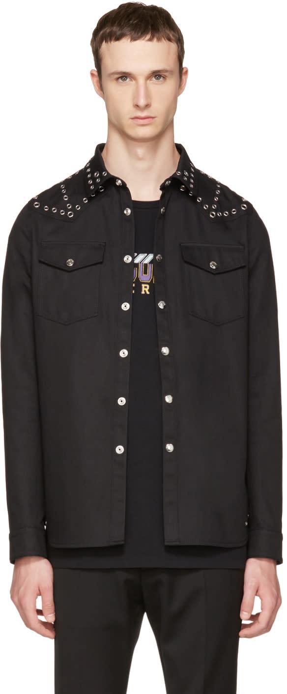 Valentino Black Eyelet Jacket