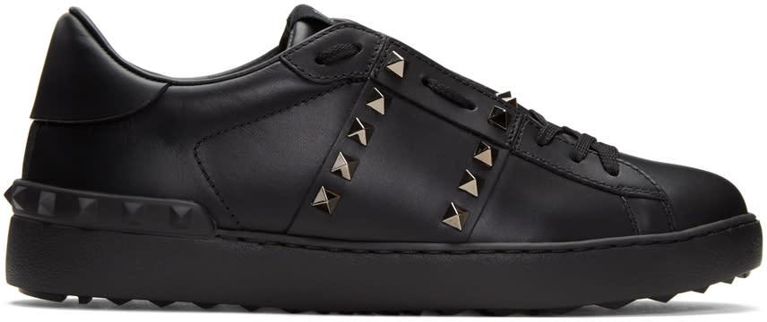 Valentino Black rockstud Untitled 11 Sneakers