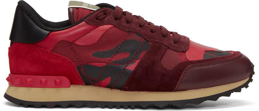 Valentino Red Valentino Garavani Camo Rockrunner Sneakers