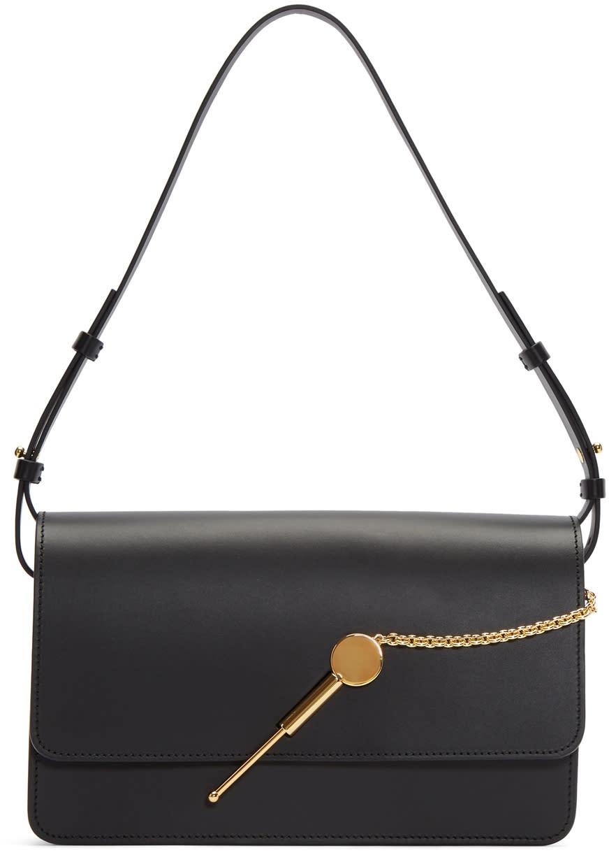 Image of Sophie Hulme Black Medium Cocktail Stirrer Bag