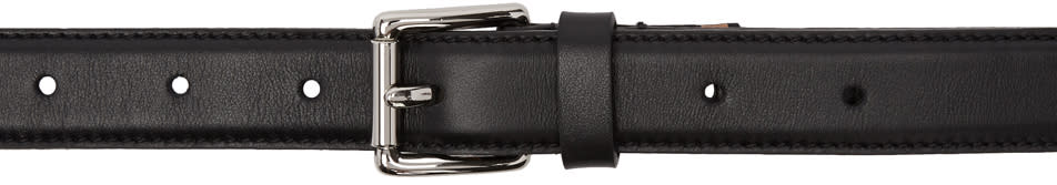 Image of Ami Alexandre Mattiussi Black and Orange Thin Belt