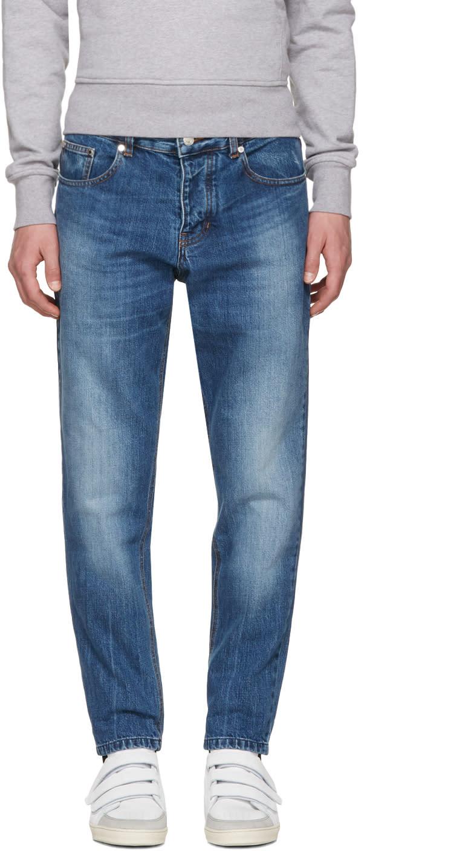 Ami Alexandre Mattiussi Blue Carrot Fit Jeans