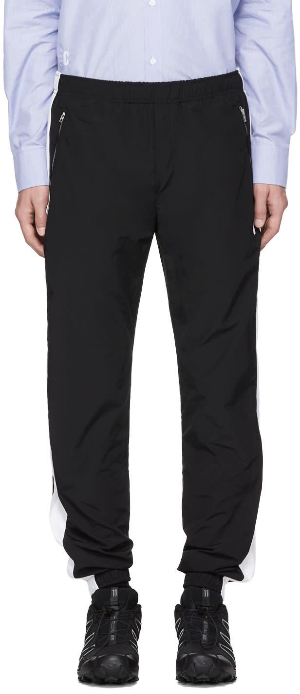 Image of Tim Coppens Black Lux Jogger Lounge Pants