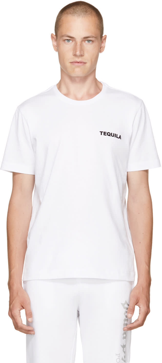 Image of Tim Coppens White tequila T-shirt