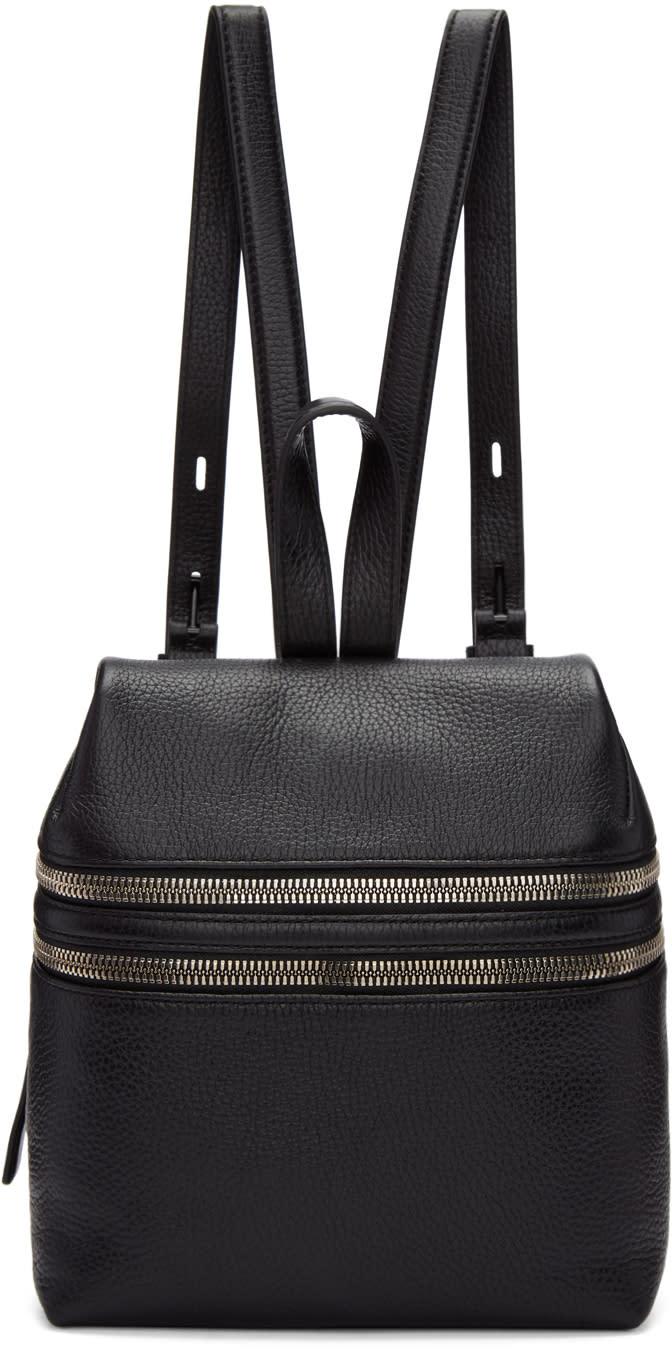 Image of Kara Black Small Double Zip Backpack