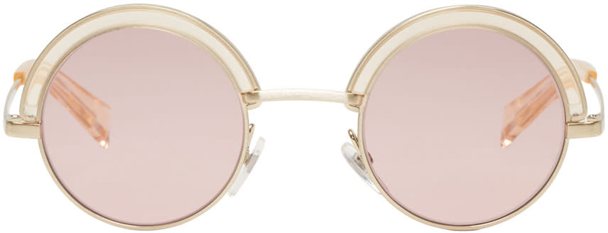 Image of Oliver Peoples Gold Alain Mikli Edition 4003n Sunglasses