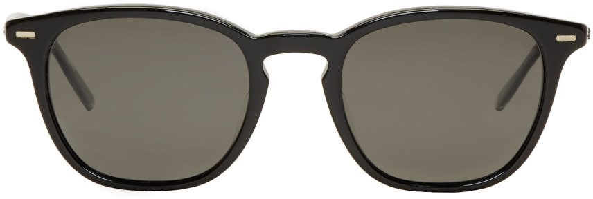 Image of Oliver Peoples Black Heaton Sunglasses