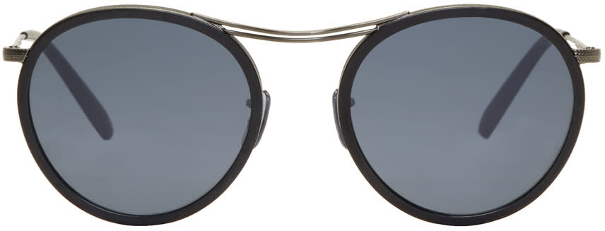 Image of Oliver Peoples Black Mp-3 30th Sunglasses