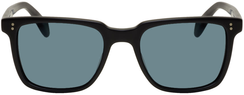 Image of Oliver Peoples Black Ndg-1 Sunglasses