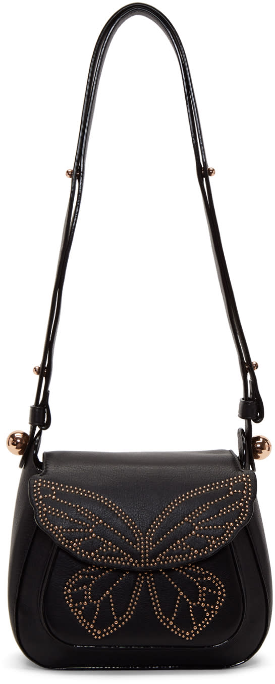 Image of Sophia Webster Black Evie Bag