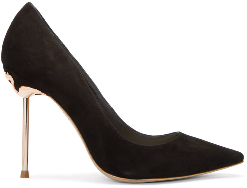 Image of Sophia Webster Black Coco Flamingo Heels