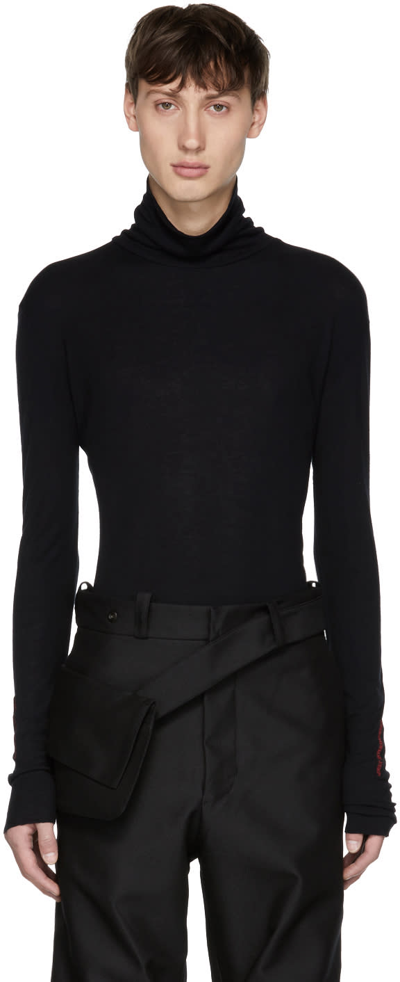 Image of Yang Li Black adult Entertainment Turtleneck