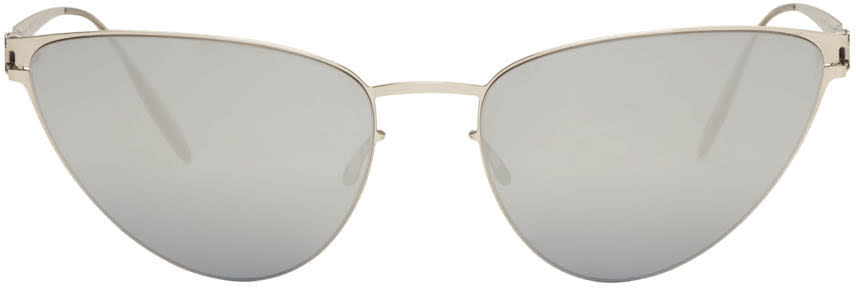 Mykita Silver Bernhard Willhelm Edition Eartha Sunglasses