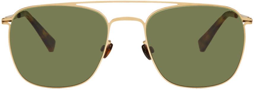 Mykita Gold Torge Lite Sunglasses