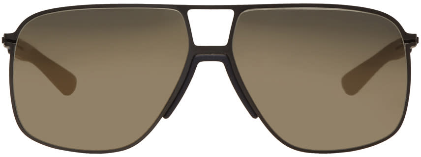 Mykita Black Oak Sunglasses