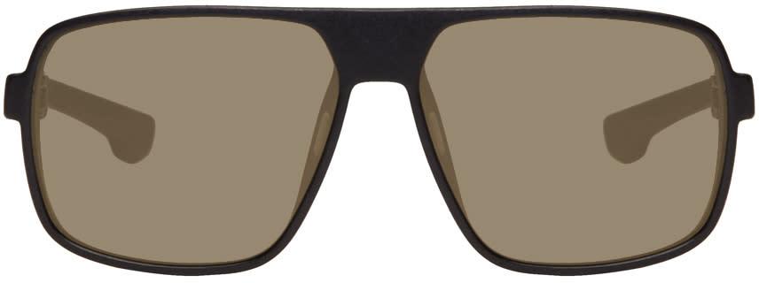 Mykita Black Daggoo Sunglasses
