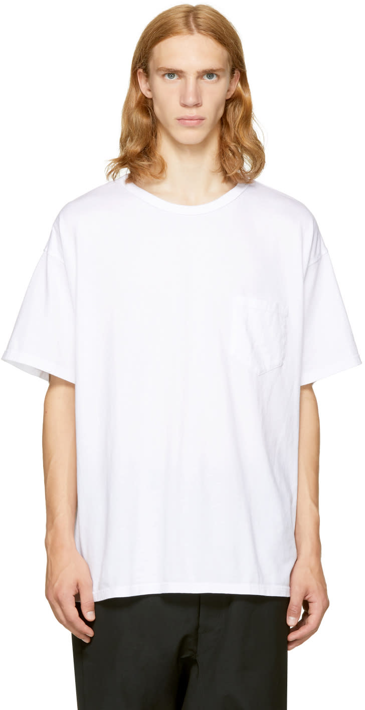 Image of Facetasm White Big Rib T-shirt