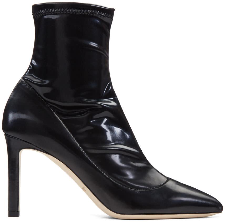 Jimmy Choo Black Louella Boots