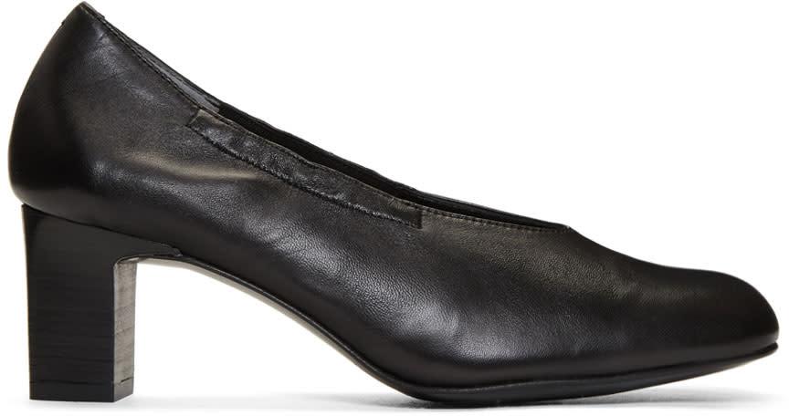 Robert Clergerie Black Pino Heels