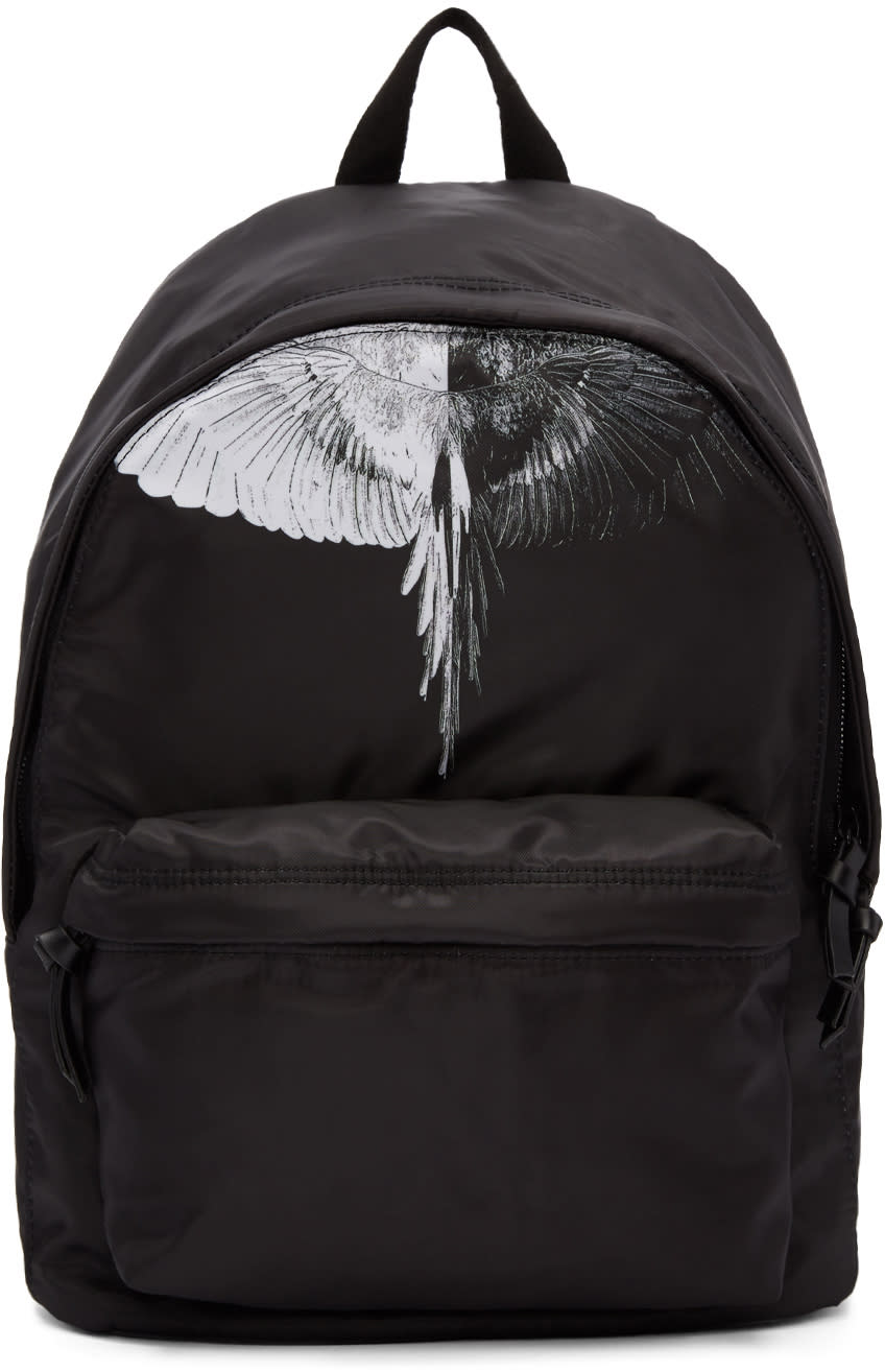 Image of Marcelo Burlon County Of Milan Black Aish Backpack