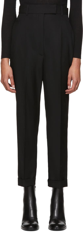 Image of Haider Ackermann Black Calder High-waist Trousers