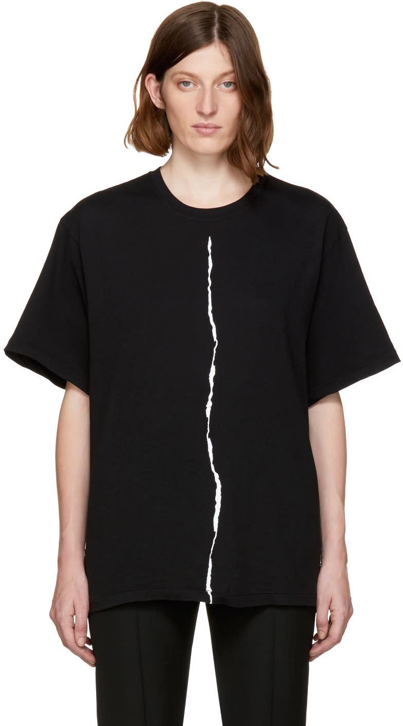 Image of Haider Ackermann Black Awuna T-shirt