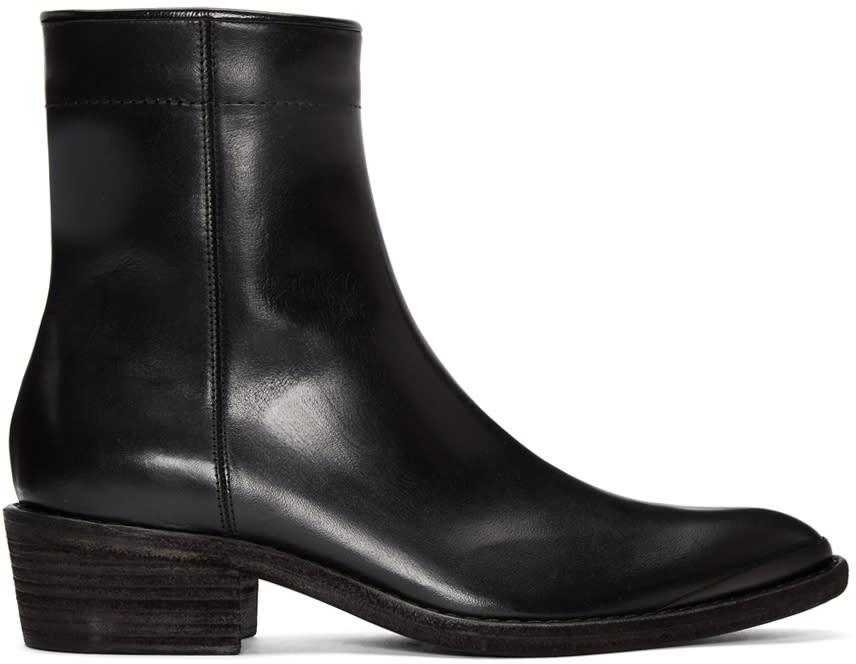 ブラック ロデオ アンクル ブーツ