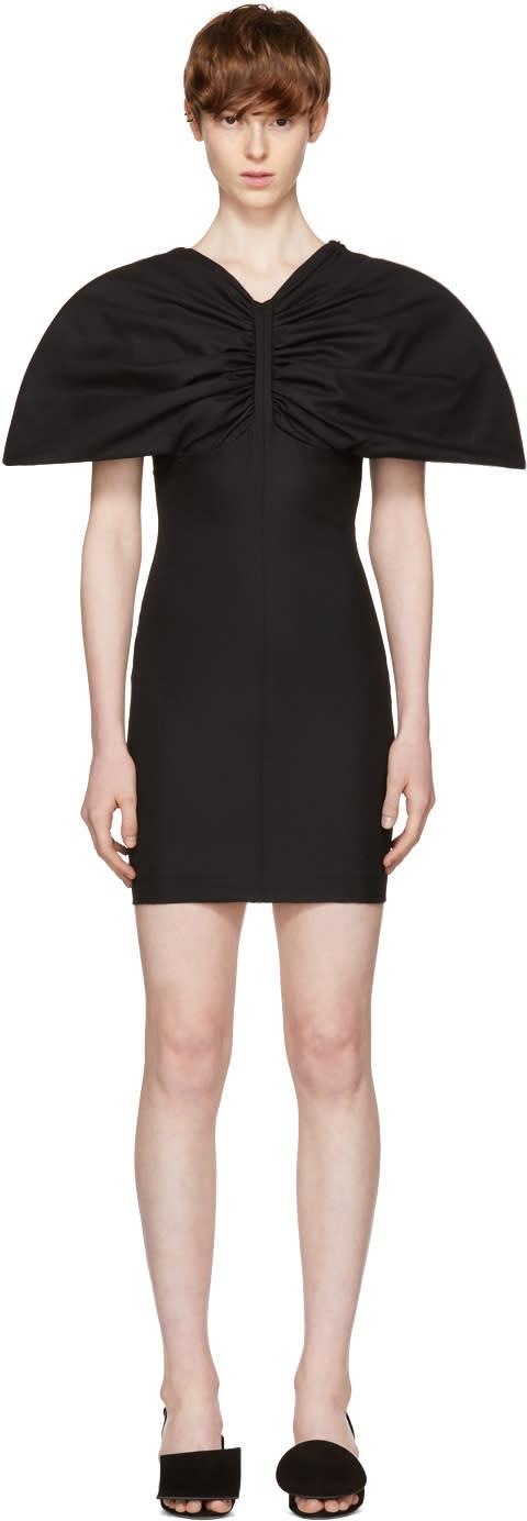 Image of Jacquemus Black la Mini Vallauris Dress