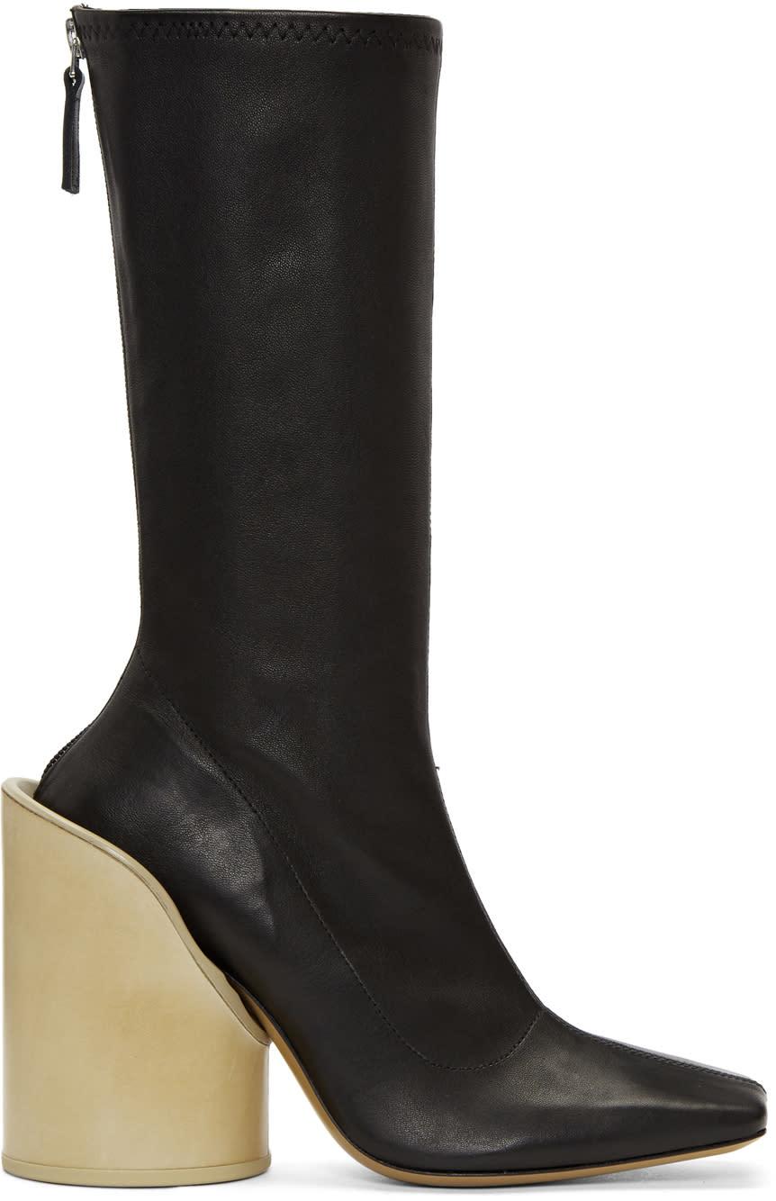 Jacquemus Black les Bottes Chaussettes Boots