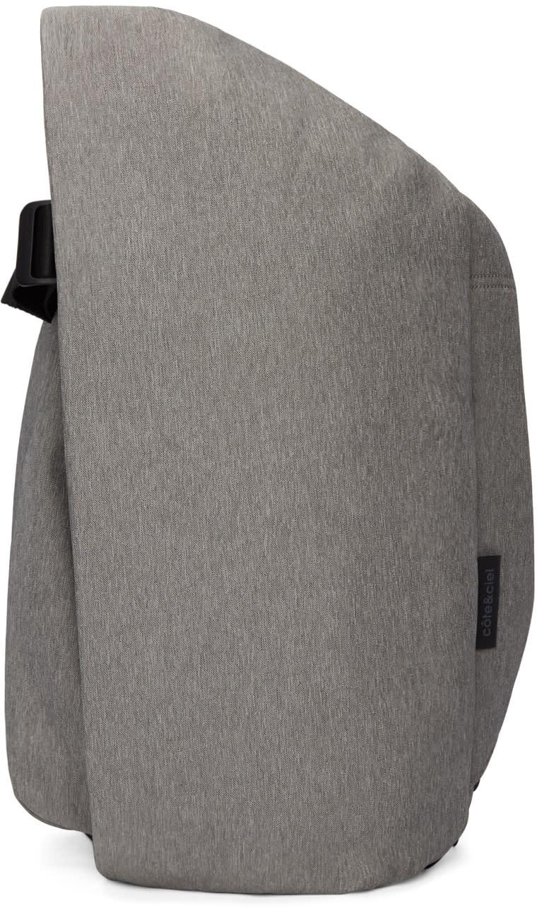 Image of Côte and Ciel Grey Medium Isar Eco Yarn Backpack