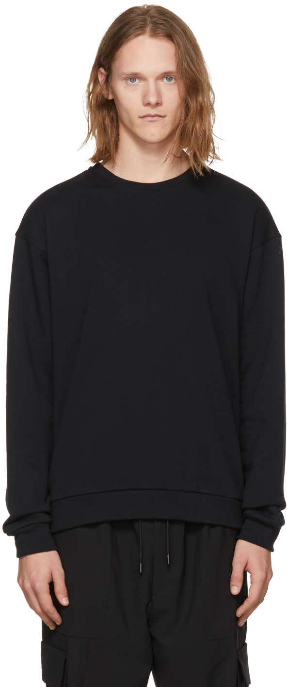 Image of Pyer Moss Black round 2 Sweatshirt