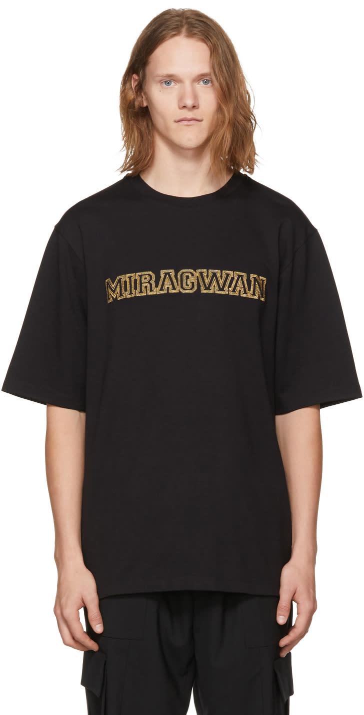 Image of Pyer Moss Black Miragwan T-shirt