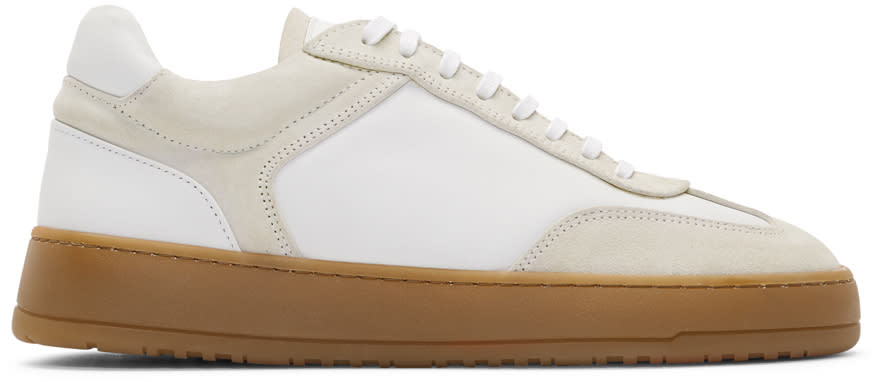 Image of Etq Amsterdam Off-white Low 5 Sneakers