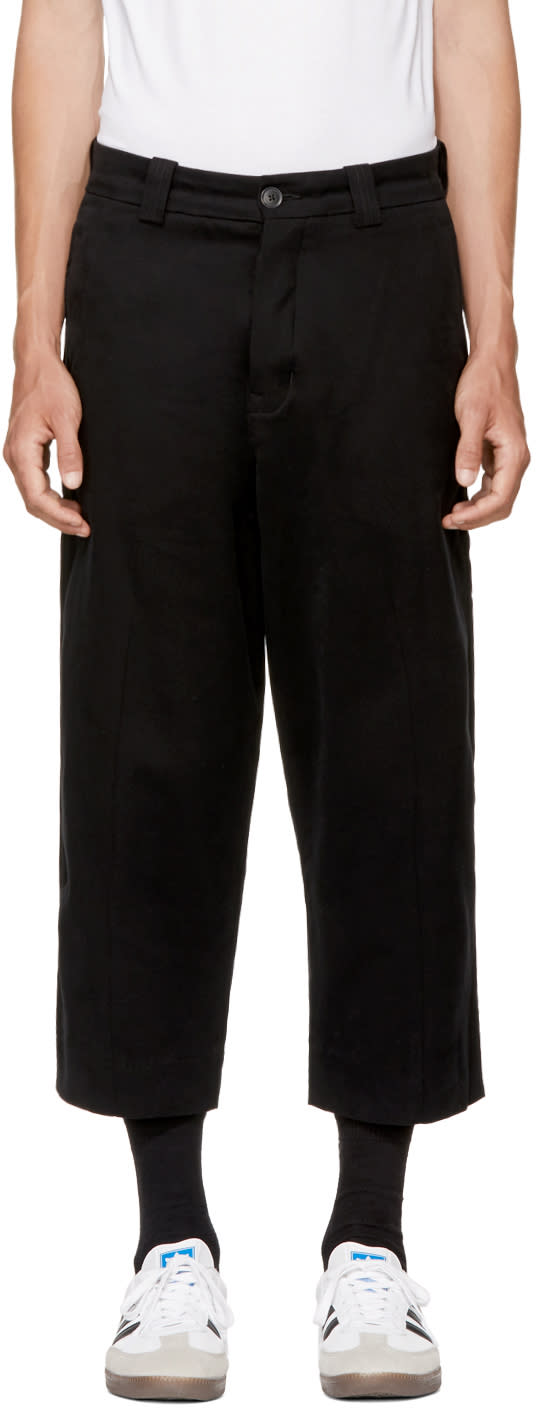 Image of Levis Made and Crafted Black Highline Trousers