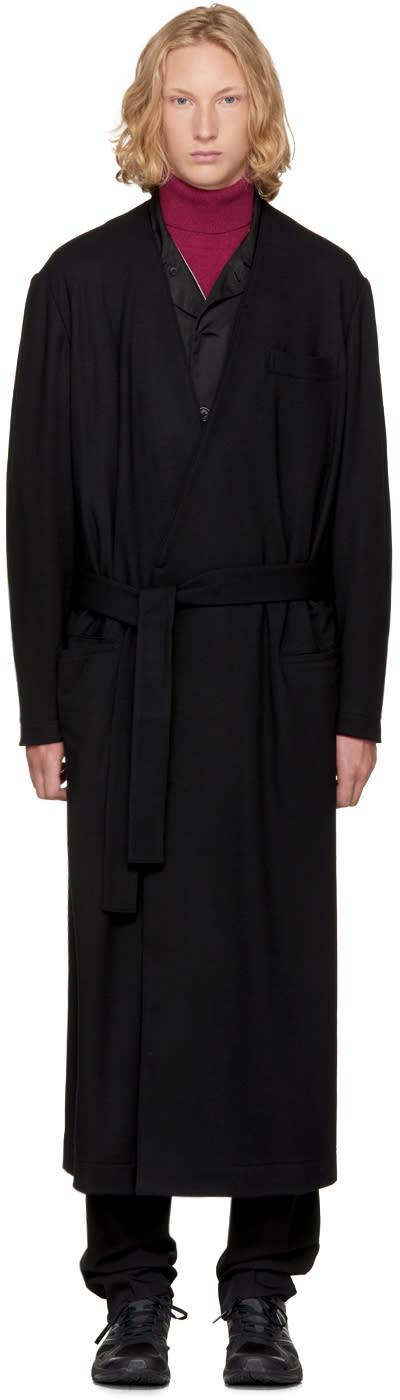 Image of Yohji Yamamoto Black Archival Coat