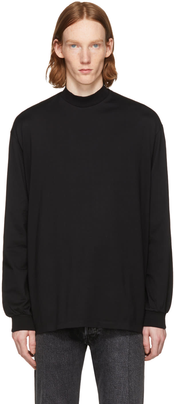 Image of Lad Musician Black Long Sleeve T-shirt