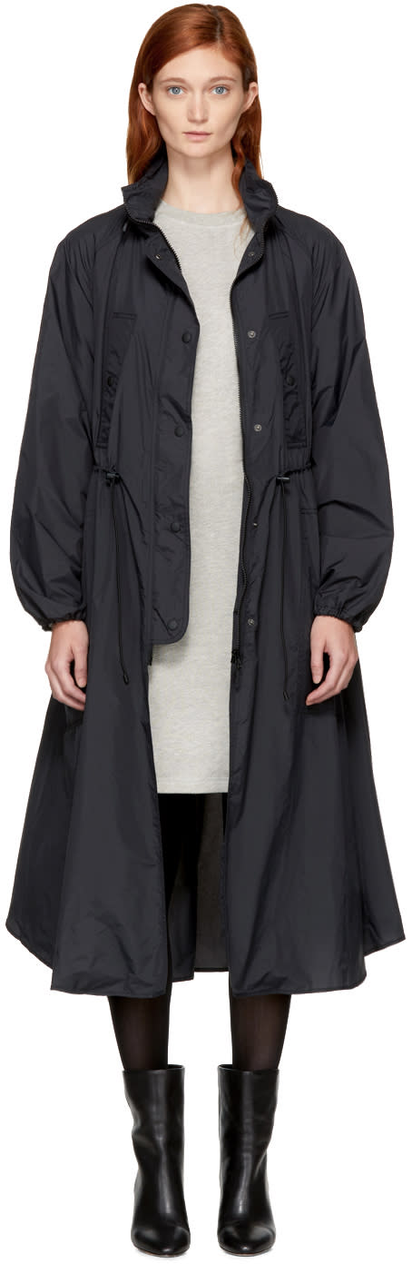 Image of Isabel Marant Etoile Black Copal Raincoat