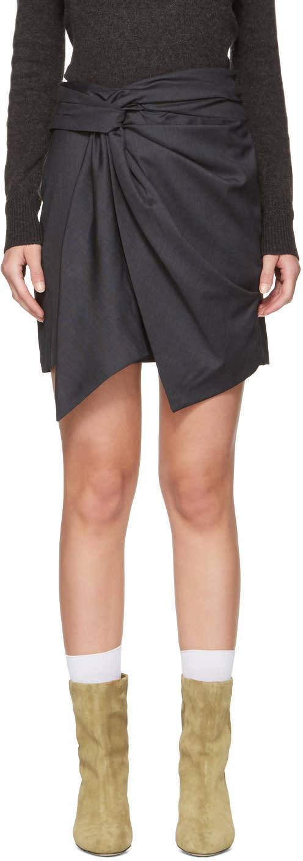 Isabel Marant Etoile Grey Nima Skirt