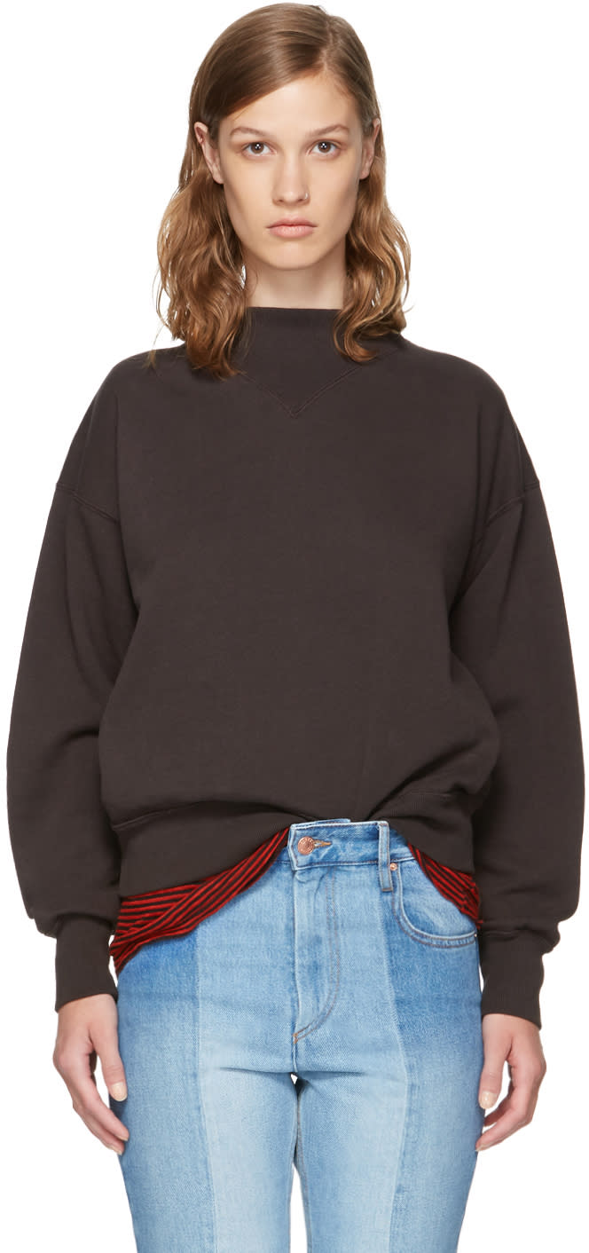 Image of Isabel Marant Etoile Black Moby Sweatshirt