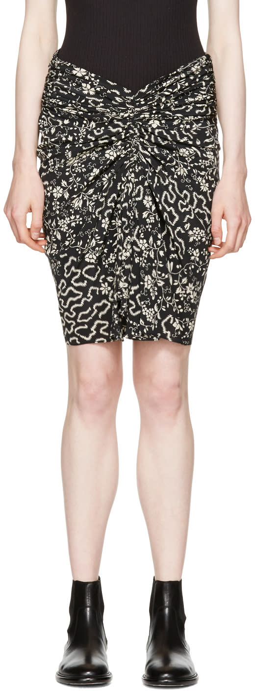 Isabel Marant Black Geeny Skirt