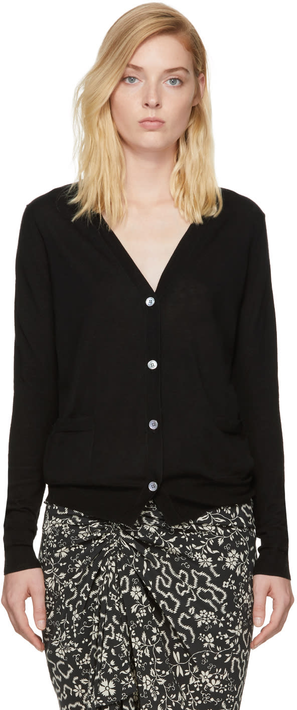 Image of Isabel Marant Black Achille Cardigan