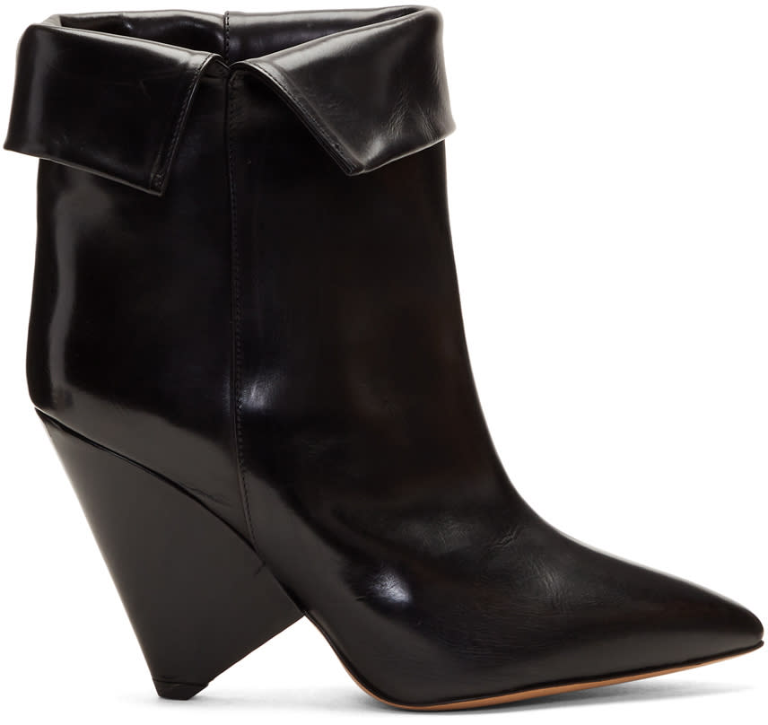 Isabel Marant Black Luliana Boots