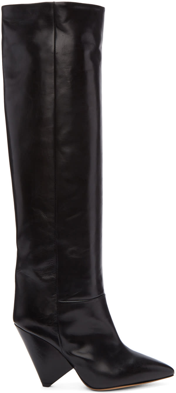 Isabel Marant Black Lokyo Knee-high Boots