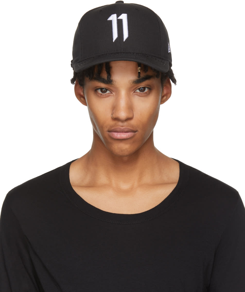 Image of 11 By Boris Bidjan Saberi Black and White New Era Edition 9fifty Cap